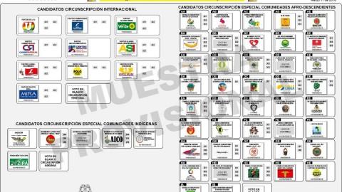Guía para el voto elecciones 2018. Cámara de Representantes Circunscripción Internacional