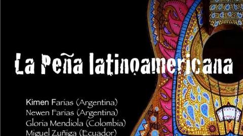 De Sur a Norte, La peña latinoamericana. Rassegna Itinerante